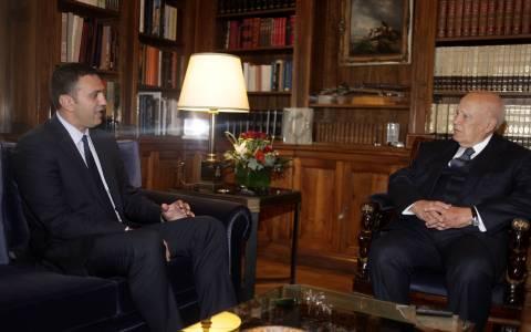 Συνάντηση Κικίλια - Παπούλια στο Προεδρικό Μέγαρο (pics)