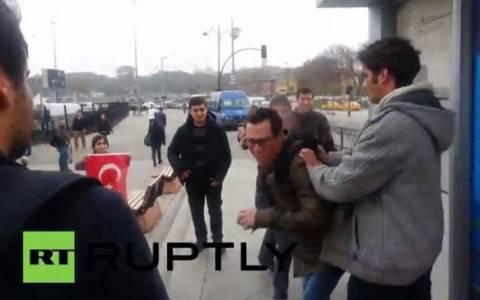 Επίθεση Τούρκων σε Αμερικάνους πεζοναύτες (video)