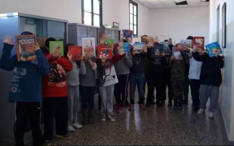 Συλλογή βιβλίων για νηπιαγωγεία και σχολεία της Αττικής