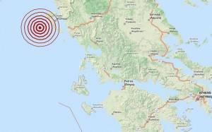 Διπλός σεισμός 3,4 Ρίχτερ δυτικά της Κέρκυρας