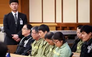 Ναυάγιο Sewol: Έφεση άσκησαν οκτώ μέλη του πληρώματος