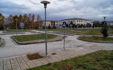 Ιωάννινα: Ρημαγμένο το πάρκο κυκλοφοριακής Αγωγής
