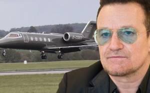 Κινδύνεψε η ζωή του Bono κατά τη διάρκεια ιδιωτικής πτήσης