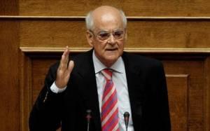 Κακλαμάνης: Δεν ψηφίζω την τροπολογία για τα ληξιπρόθεσμα