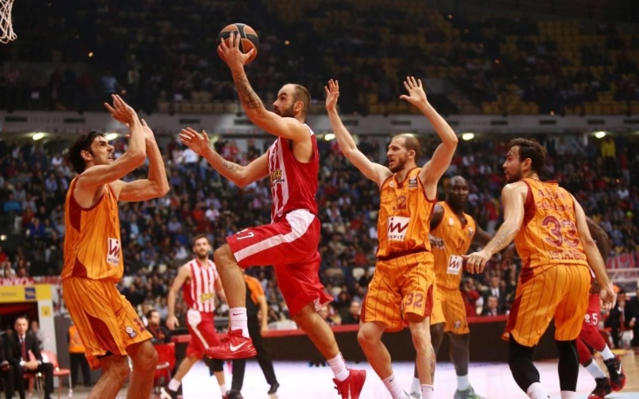 Ευρωλίγκα: Ολυμπιακός - Γαλατάσαραϊ 93-66