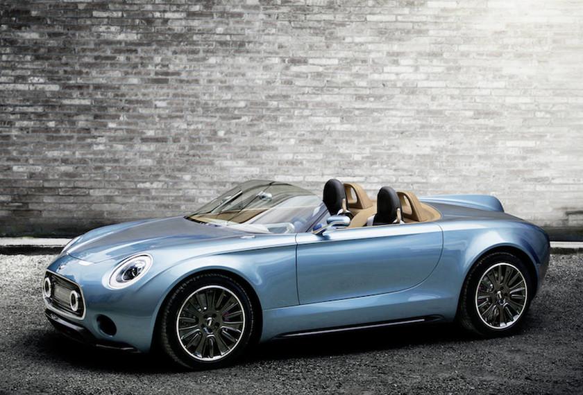 Το MINI Superleggera Vision roadster συνδυάζει Βρετανικό στυλ, Ιταλική φινέτσα, μικρό βάρος και ηλεκτροκίνηση