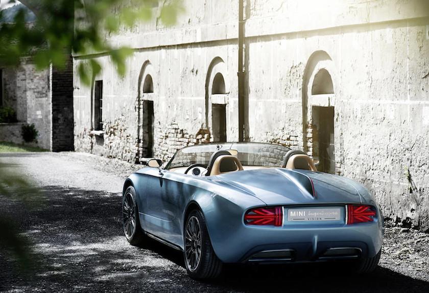 MINI Superleggera Vision το Βρετανικό Στυλ συναντά την Ιταλική Φινέτσα.