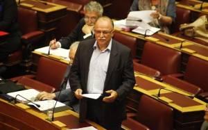 Παπαδημούλης: Τεστ αυτοεξευτελισμού στη Βουλή