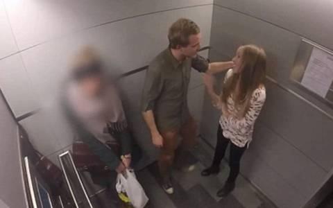 Πώς θα αντιδρούσες αν μια γυναίκα κακοποιούταν δίπλα σου;
