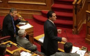 Γεωργιάδης: Αν ισχύουν αυτά, ο Καρατζαφέρης θα πάει φυλακή