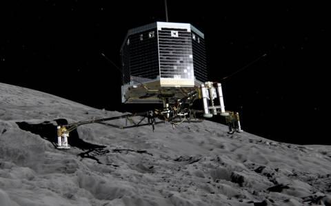 Ξεκίνησε το... σκάψιμο του κομήτη το ετοιμοθάνατο (;) Philae