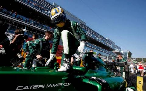 F1: Η Caterham επιστρέφει στην F1