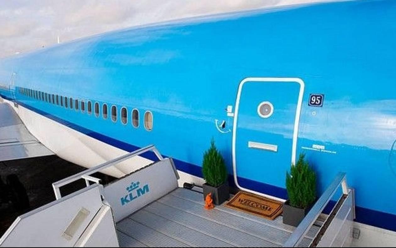 Το αεροπλάνο που έγινε... ξενοδοχείο!
