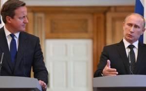 Πούτιν και Κάμερον τα είπαν για τη σχέση Δύσης – Ρωσίας