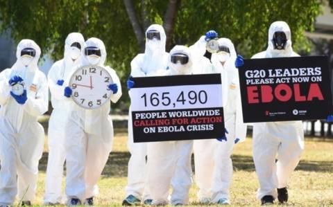 Δέσμευση των ηγετών της G20 για την αντιμετώπιση του Έμπολα