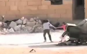Σκηνοθετημένο το video του μικρού ήρωα στη Συρία!