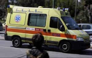Δύο τραυματίες σε τροχαίο στο Ηράκλειο