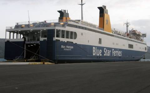 Ανεκτέλεστο το σημερινό δρομολόγιο του πλοίου «Blue Horizon»