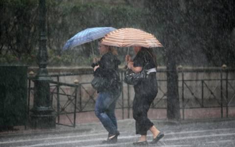 Με βροχές και καταιγίδες ξεκινά η εβδομάδα