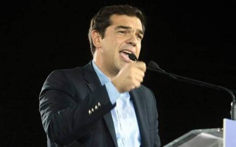 Tsipras: Greece is on the threshold of a political change