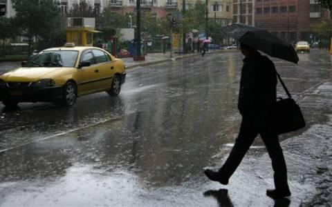 Βροχές και καταιγίδες τη Δευτέρα
