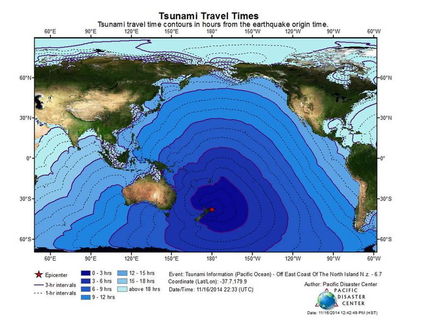 Ισχυρός σεισμός 6,7 Ρίχτερ στη Νέα Ζηλανδία