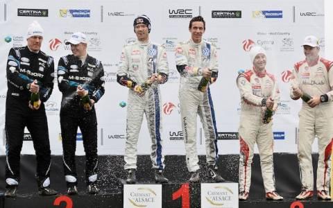 WRC Βρετανία 3η ημέρα: Νικητής και πρωταθλητής ο S.Ogier