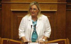 Ξουλίδου: Η ελληνική κοινωνία βιώνει μια νέα Χούντα