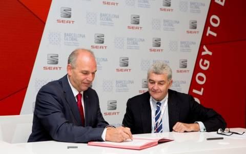 Seat: Συμφωνία συνεργασίας με την Barcelona Global