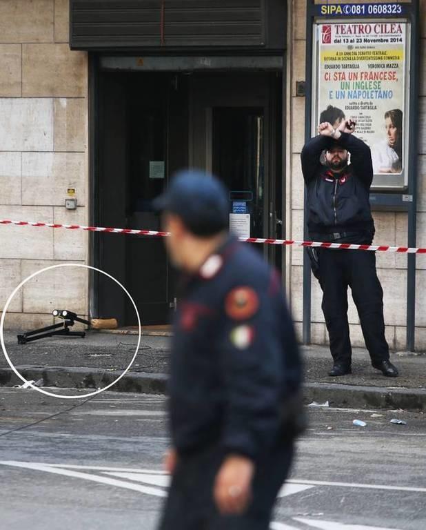 Ιταλία: Βόμβα έξω από υποκατάστημα της Deutsche Bank (pics)