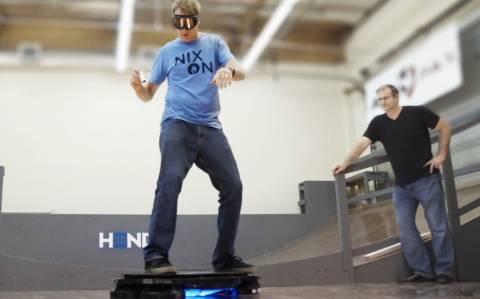 Όταν ο Hawk ανέβηκε σε hoverboard