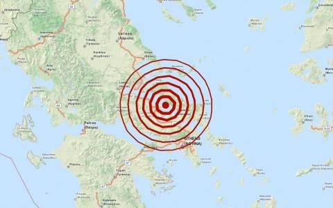 Διπλός σεισμός 5,1 Ρίχτερ βόρεια της Χαλκίδας