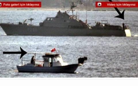 Продолжаются провокации турецких кораблей