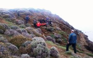 Επιχείρηση διάσωσης ατόμου στη Λήμνο (Photos)