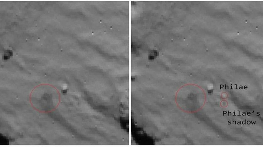 Το Philae εντόπισε ζωή στον κομήτη Τσούρι;