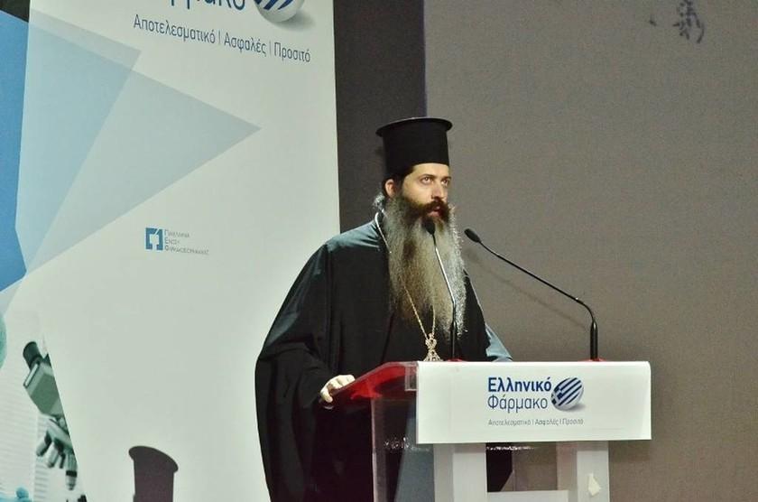 Ο Πρωτοσύγκελος της Αρχιεπισκοπής, πατέρας Συμεών