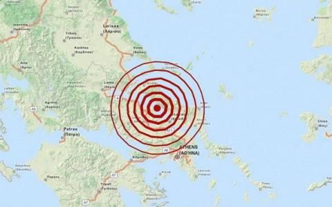 Землетрясение 4,1 балла возле Халкиды