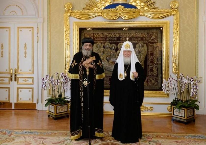 Τι συζήτησαν ο Κύριλλος και ο Πατριάρχης των Κοπτών