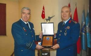Επίσκεψη Αρχηγού ΤΑ στη Διοίκηση Μαχητικών Αεροσκαφών