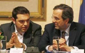 Αποφεύγει τη συνάντηση με τον Τσίπρα ο Σαμαράς