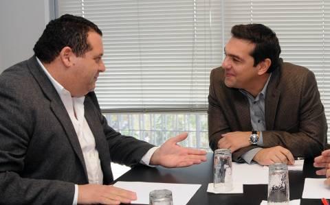 Συνάντηση Τσίπρα με τον Κύπριο πρέσβη