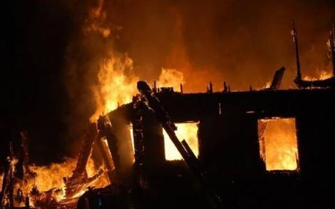 Ηλικιωμένη κάηκε ζωντανή μέσα στο ίδιο της το σπίτι