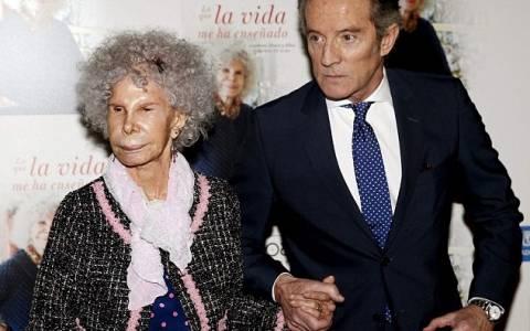 Ισπανία:Πέθανε η δούκισα της 'Αλμπα