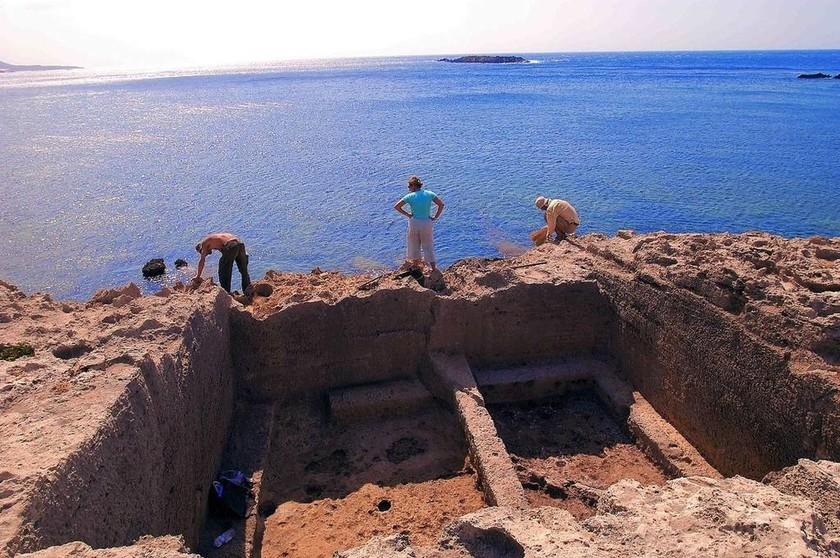 Ένα μοναδικό αρχαίο λιμάνι στα Φαλάσαρνα
