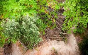 Ανακαλύπτοντας ένα λαβύρινθο στα δάση της Ισπανίας