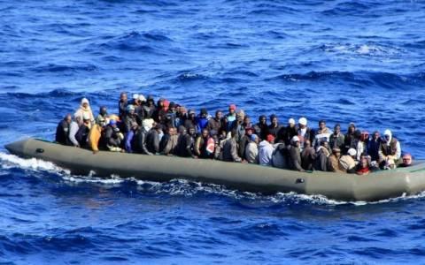 Διάσωση 2.350 μεταναστών μέσα σε ένα διήμερο