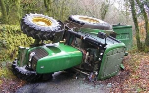 Αγρότης βρήκε τραγικό θάνατο όταν τον πλάκωσε το τρακτέρ του