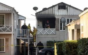 Παιδιά κάηκαν σε πυρκαγιά ενώ η μητέρα τους γεννούσε (pics)