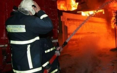 Φωτιά στον Στύλο - Ηλικιωμένη εγκατέλειψε το σπίτι της