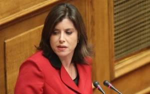Η Ασημακοπούλου τα... λέει, ο ΣΥΡΙΖΑ της... φταίει!
